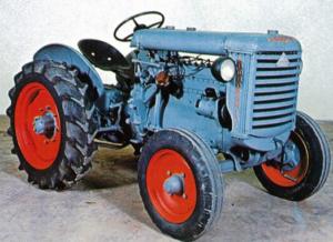 primeiro trator Lamborghini